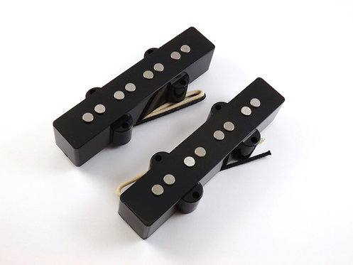 TE-07 Custom J-bass Pickup Set w/ Cloth Push-back