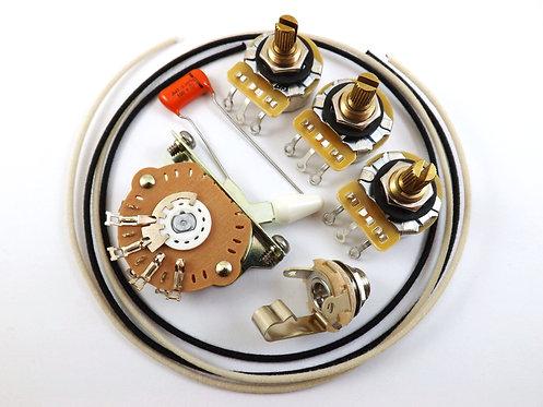 Premium Strat Wiring Kit