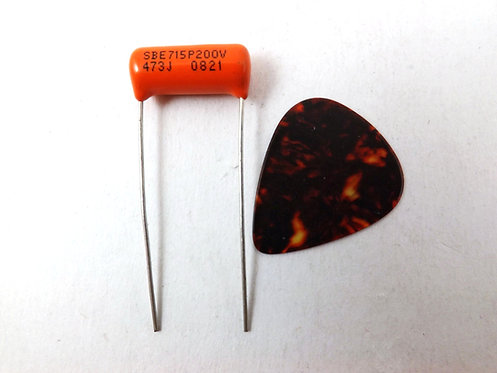 CDE 715p Orange Drop .047uf Guitar Tone Capacitor