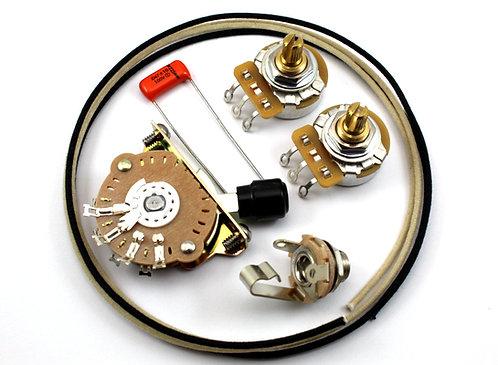 Premium Tele Wiring Kit w/split shaft