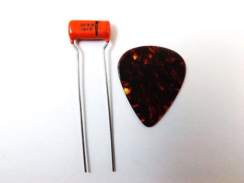 Sprague 225P Orange Drop .047uf Guitar Tone Cap.