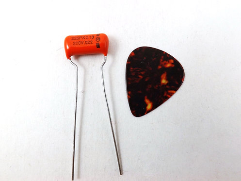 Sprague 225PX Orange Drop .022uf Guitar Tone Cap.