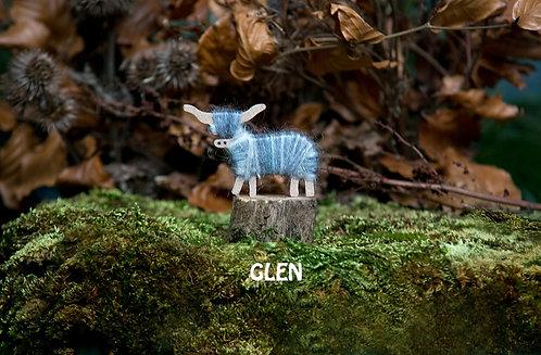 Glen - Hairy Coo Keyrings