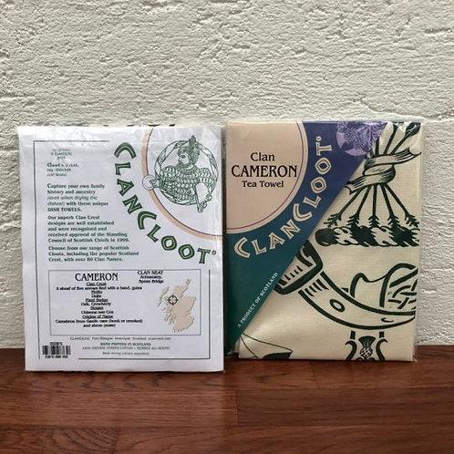 Clan Cloot Tea Towel T - Y