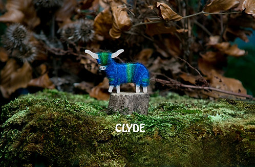 Clyde - Hairy Coo Keyrings