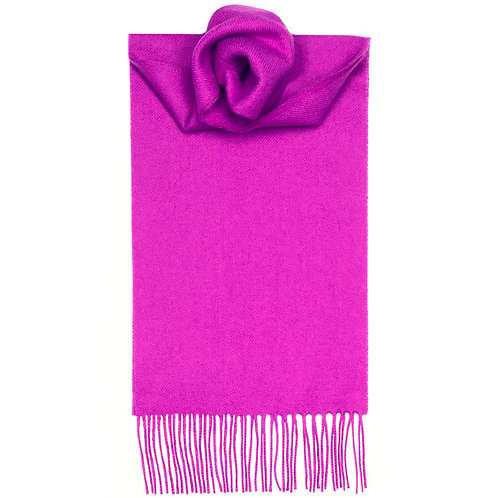 Foxglove Plain Scarf - Lochcarron of Scotland