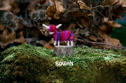 Rowan - Hairy Coo Keyrings