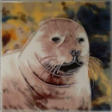 "Seal 4""x4"" - Skye Tile"
