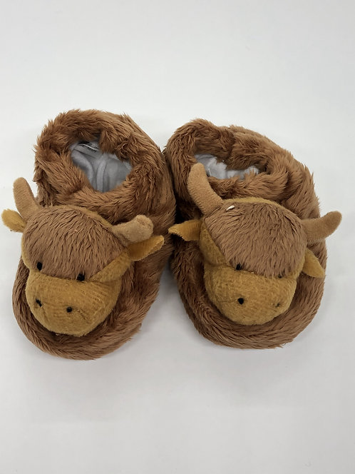 Highland Cow Bootees - Glen Appin