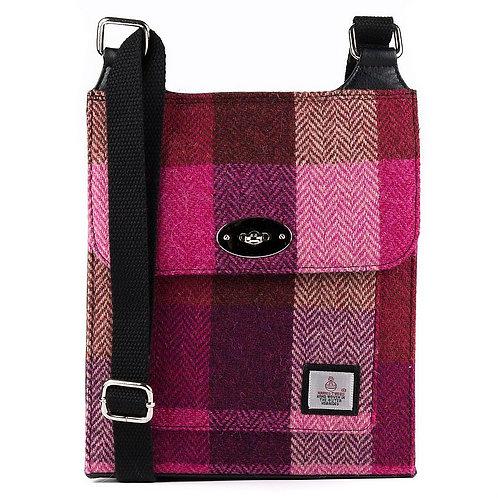 Harris Tweed Satchel Bag - Maccessori