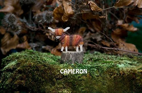 Cameron - Hairy Coo Keyrings