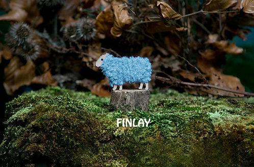 Finlay - Woolly Ewe Keyrings