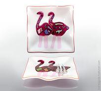 Flamingo Ruffle Plate.jpg