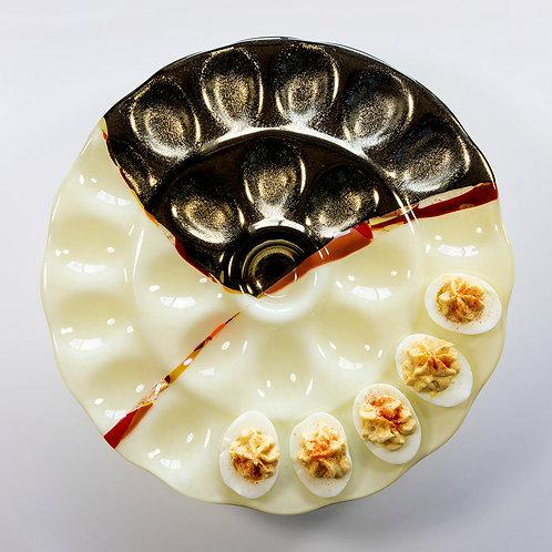 Egg Tray--Vanilla Gold
