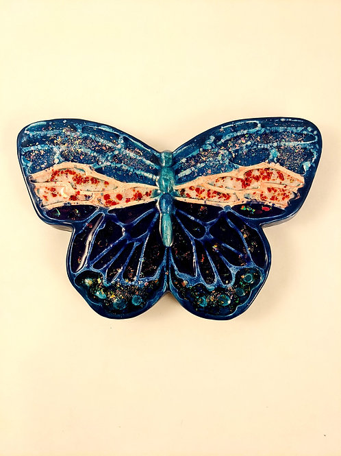 Glass and Ceramic Butterfly