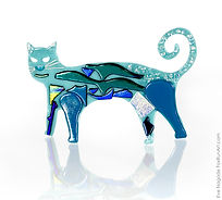 Turquoise Cat Stand Up.jpg