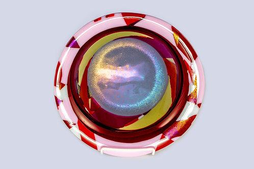 Red Mosaic Bowl