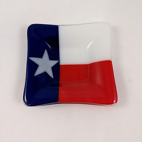 Texas Small Square Dish Large Star