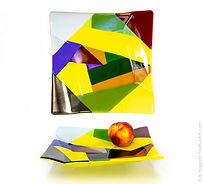 Multi Color Origami Platter.jpg