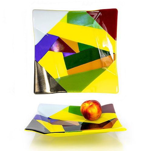 Origami Multicolor Platter
