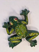 Frog Glass and Ceramic