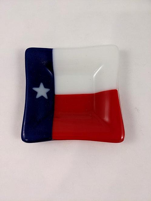 Texas Small Square Dish