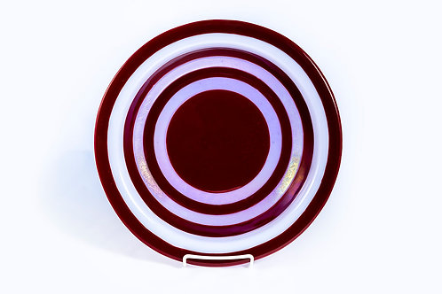 Bowl Red and Pink Rings