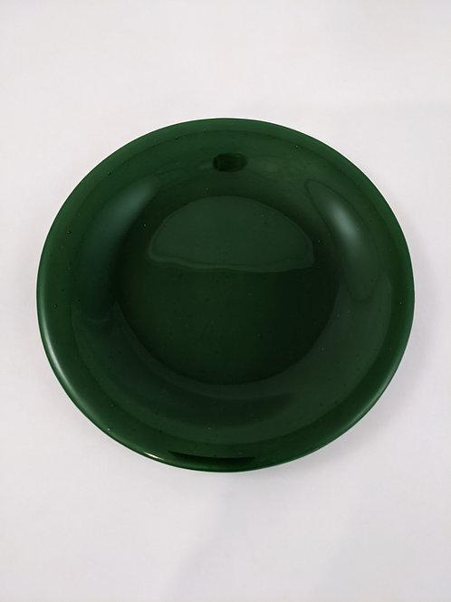 Plate Solid Dark Green