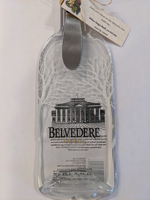 Belvedere Wine and Cheese Tray