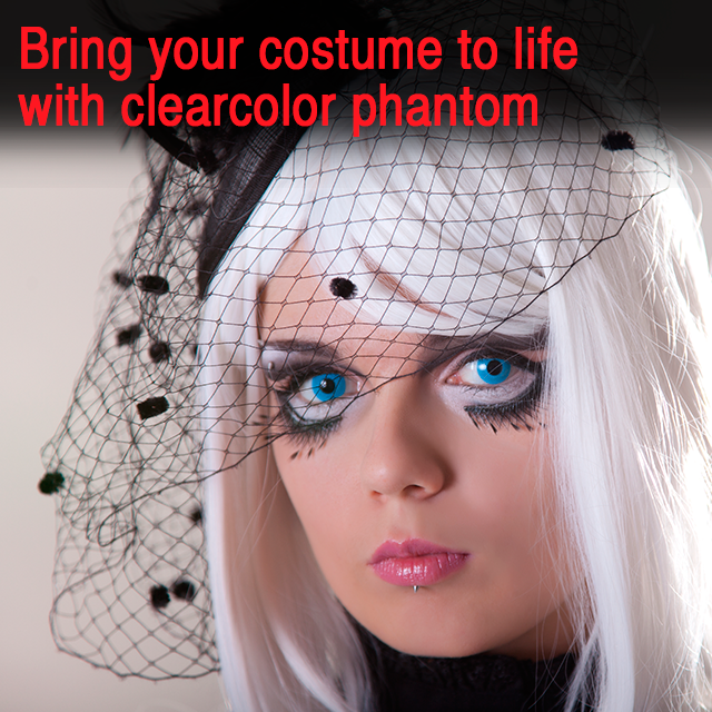 Your Halloween contacts