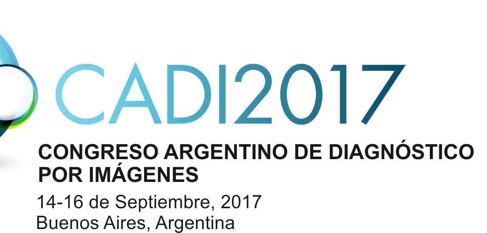 Congreso Argentino de Diagnóstico por Imágenes - CADI 2017
