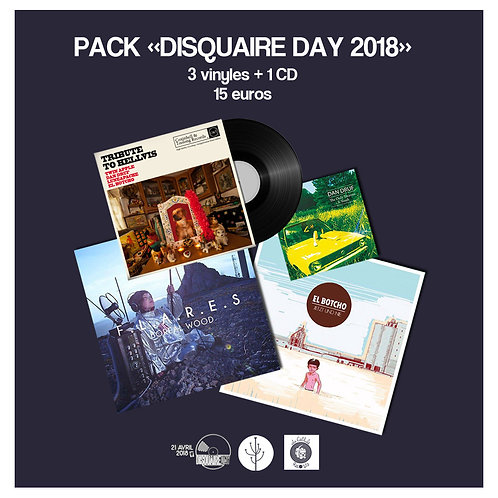Pack Disquaire Day
