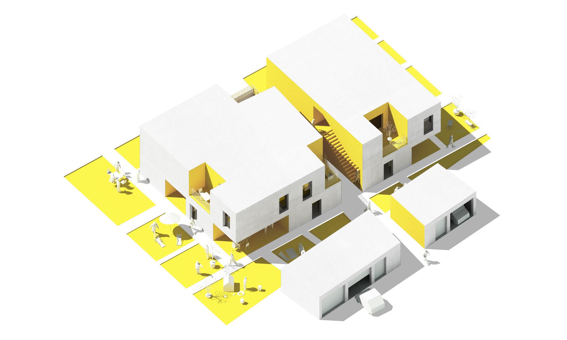 Immeuble de 6 logements T2 à T5