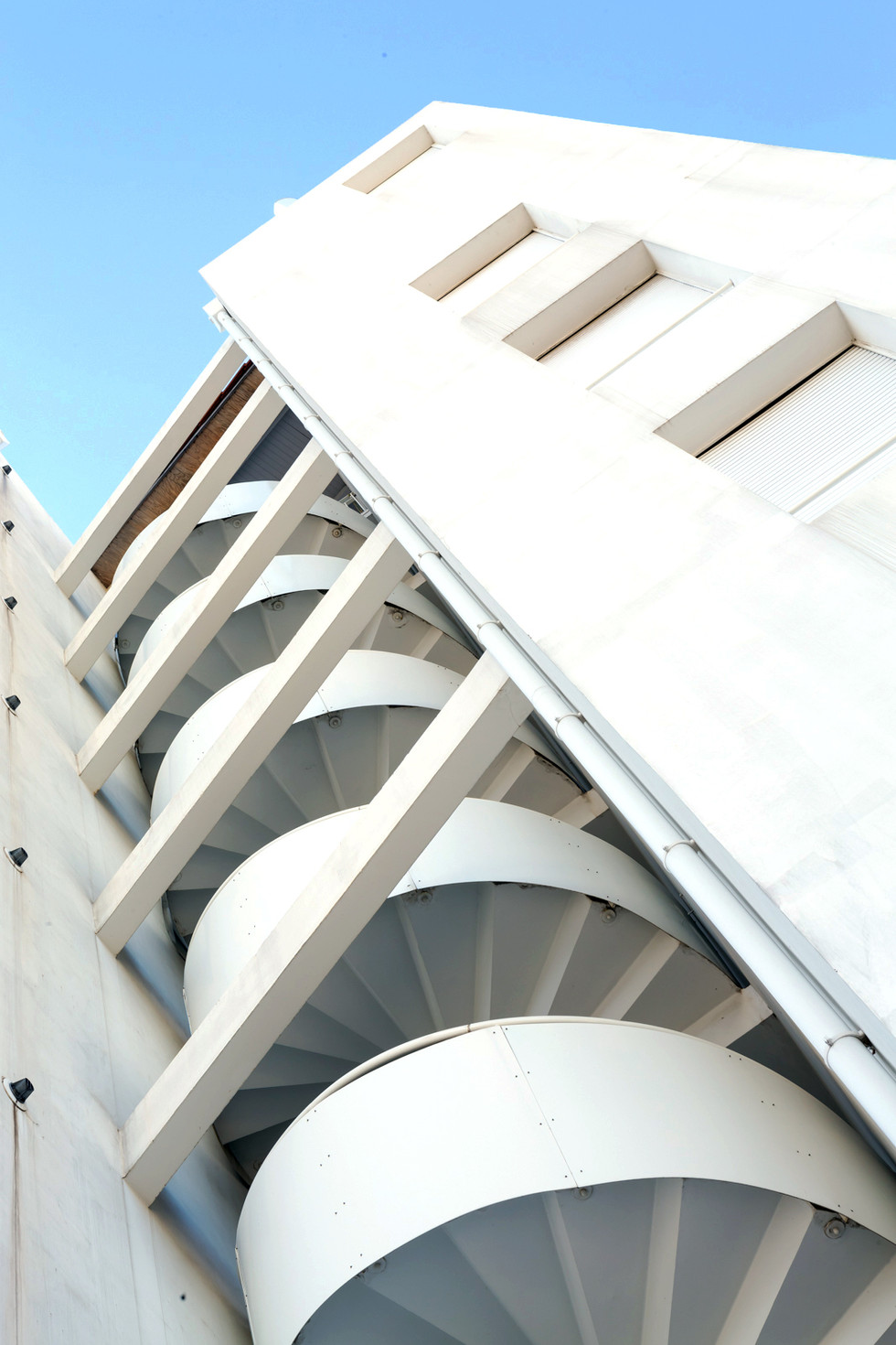 Escalier extèrieur