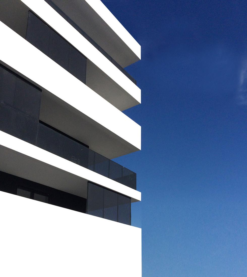 Détail façade Sud