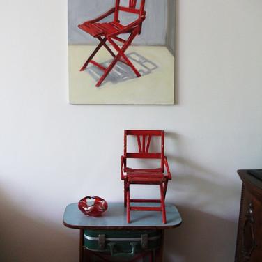 Antique Children Chair