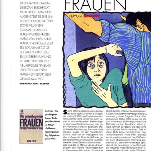 Abuse - 'Playgirl' Magazine