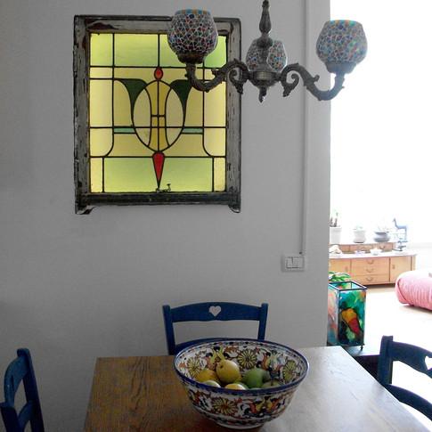 Antique Vitrage Window