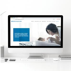 Site Institucional Besins Healthcare Brasil