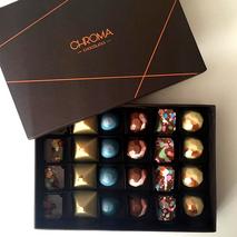 Embalagem Chroma Chocolates