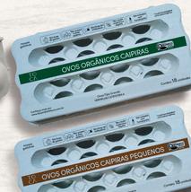 Embalagens Ovos Fazenda da Toca