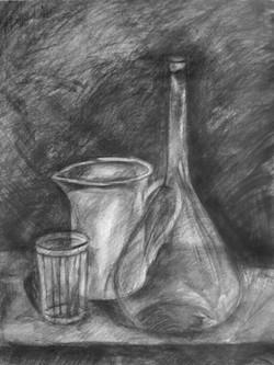 Натюрморт с гранённым стаканом
