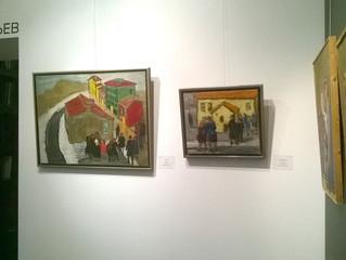 Выставка живописи и графики Александра Арефьева в Петербурге