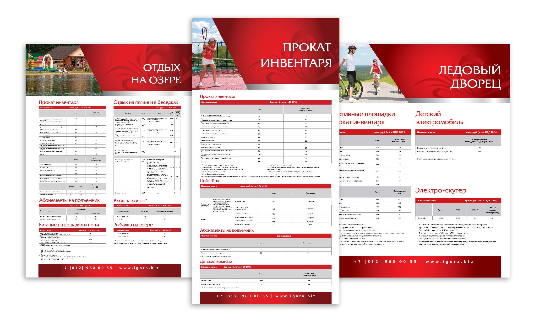 Верстка информационных плакатов