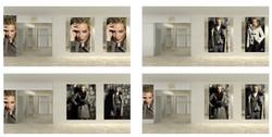 Оформление витрины бутика