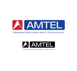 Разработка логотипа AMTEL