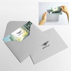 Дизайн открытки и конверта