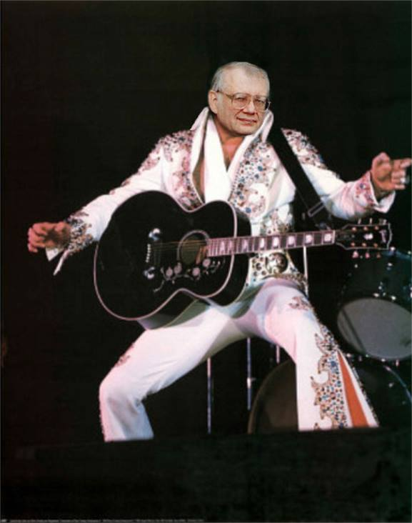 Elvis spoof