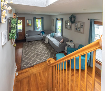 Downstairs to Family Room