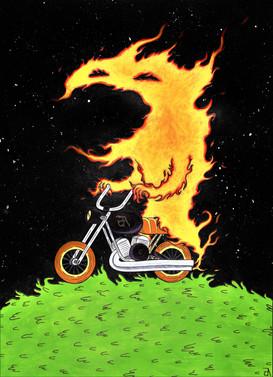 """Burning Rubber"""